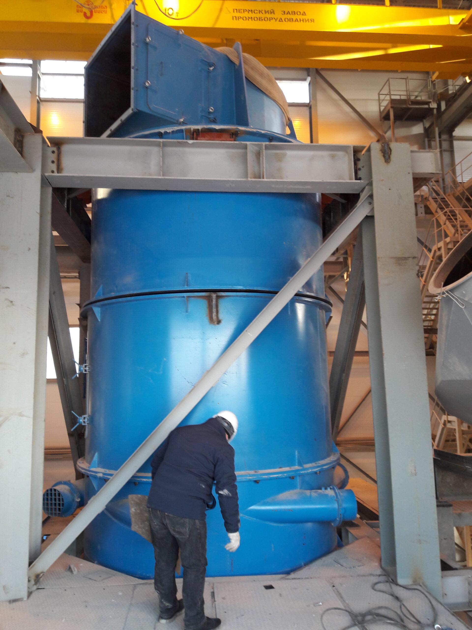 Классификатор, пр-ть 30000м3 запыленного воздуха